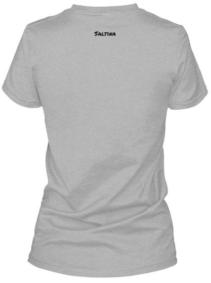 Saltina  Sport Grey T-Shirt Back