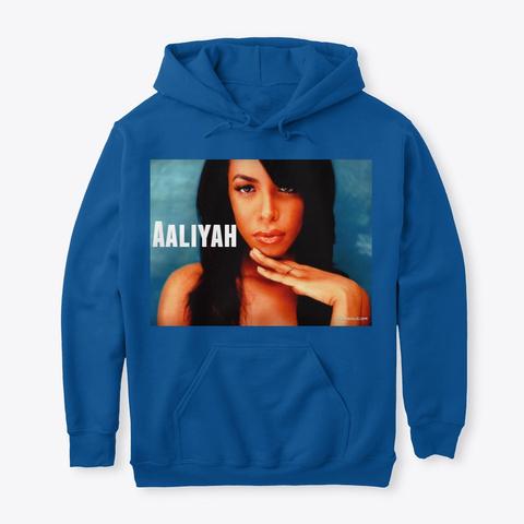 Original Queen Aaliyah Royal T-Shirt Front