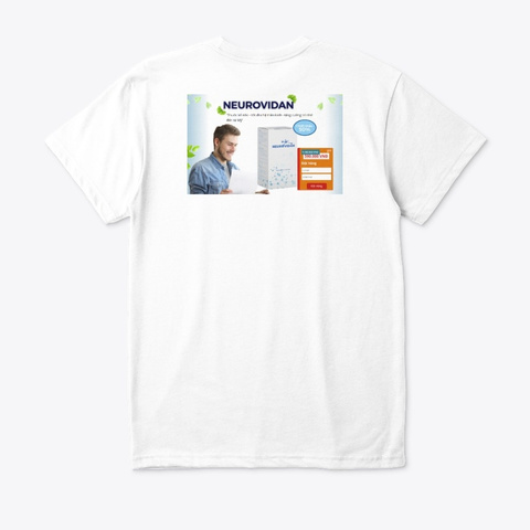 Neurovidan White T-Shirt Back