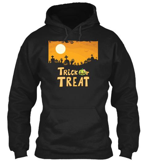 Halloween T Shirt, Mug, Sticker Black Sweatshirt Front