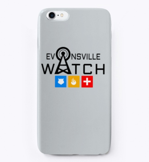 Evansville Watch Light Grey T-Shirt Front
