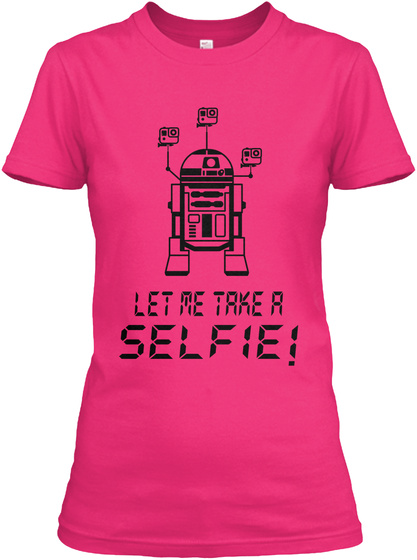 Let Me Take A Selfie Heliconia T-Shirt Front