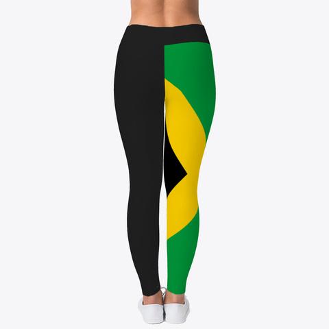Official Jamaica Leggings Black T-Shirt Back