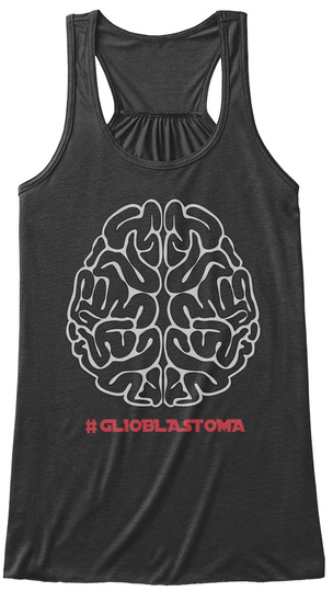 #Gl10 Blastoma Dark Grey Heather Débardeur pour Femme Front