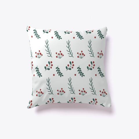 Christmas Flower Pillow Standard T-Shirt Front