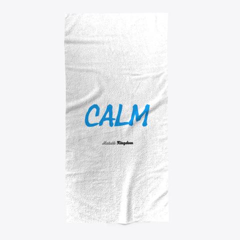 Calm   Serviette Bain Standard T-Shirt Front