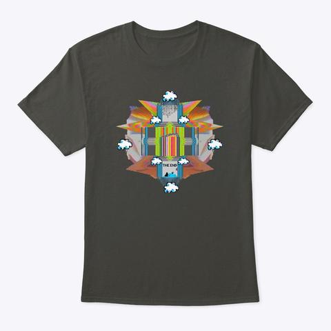 Cloud Portal Smoke Gray T-Shirt Front