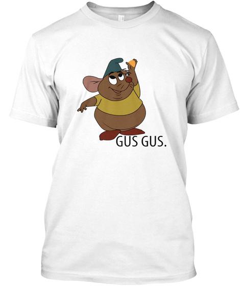 Gus Gus White T-Shirt Front