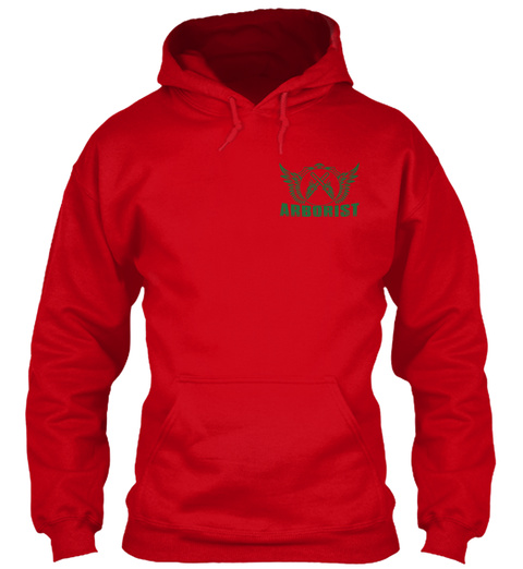 Arborist Red Sweatshirt Front