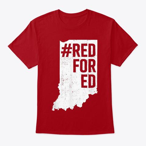 INDIANA STATE TEACHER REDFORED T SHIRT Unisex Tshirt
