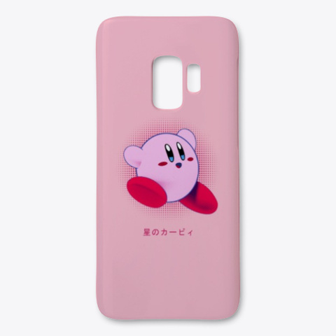 Special Kirby Phone Case Pink T-Shirt Front