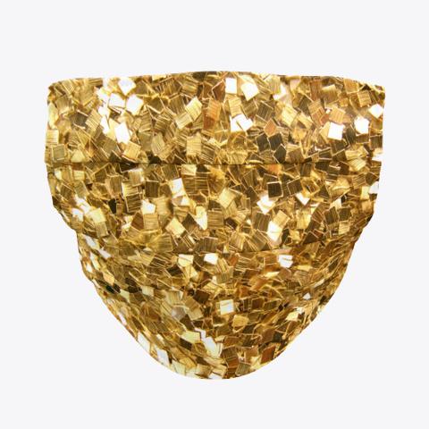 Golden Face Mask  Standard T-Shirt Front