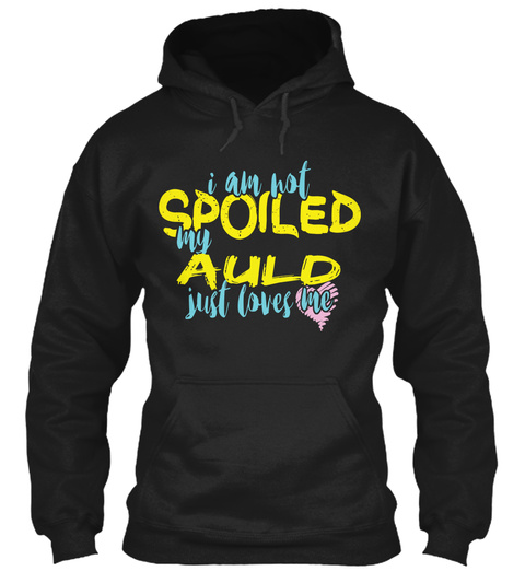 Auld  Black T-Shirt Front