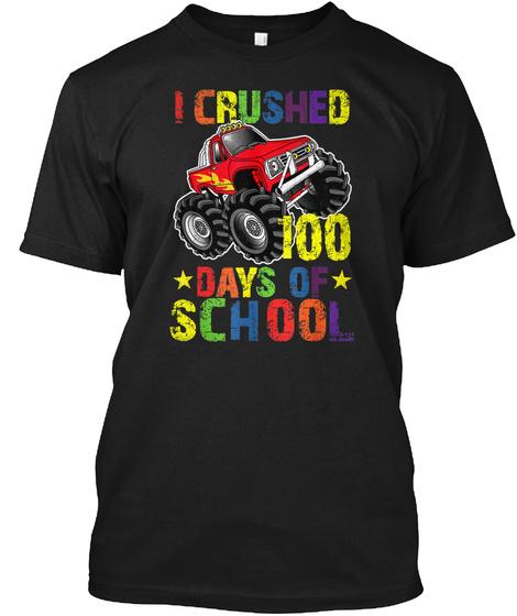 100 Days of School T Shirt Monster Truck Unisex Tshirt