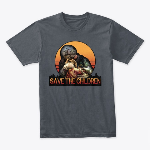 Save The Children Heavy Metal T-Shirt Front