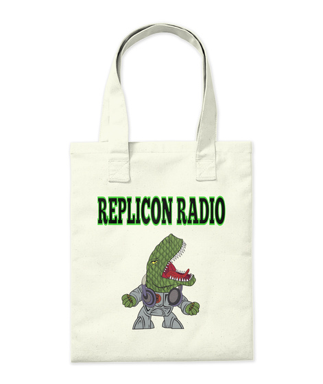 Replicon Radio Natural T-Shirt Back