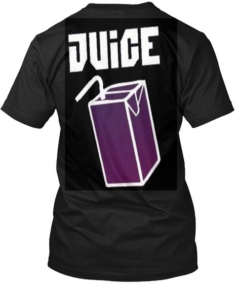 Juice Black T-Shirt Back