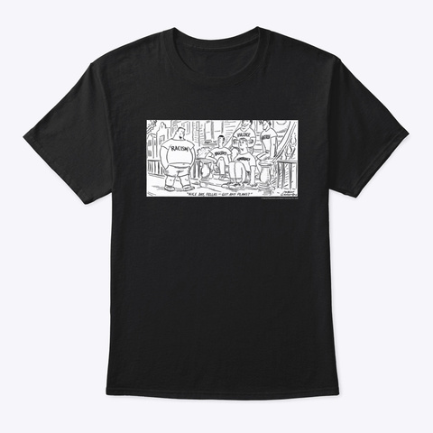 Got Any Plans Alt T Shirt Black T-Shirt Front