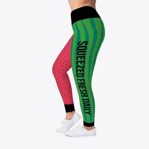 Jiu Jitsu Watermelon Squeeze   Spats Standard T-Shirt Left