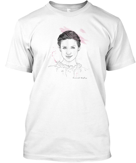 Caitriona's Birthday Project White T-Shirt Front