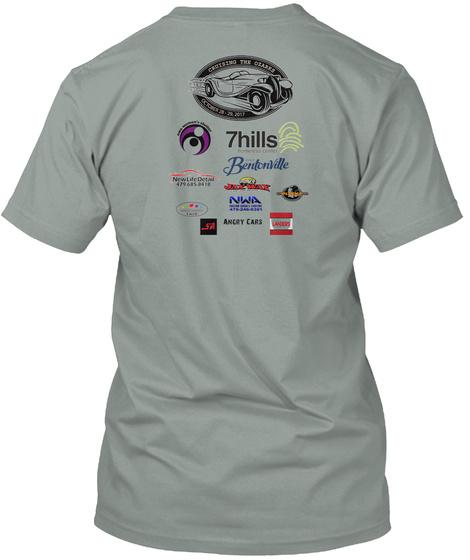 Cruising The Ozarks 2017   Event Shirts Warm Grey T-Shirt Back