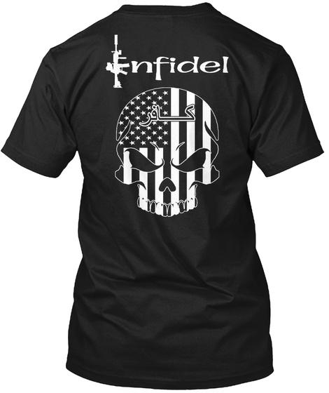 Enfidel Black T-Shirt Back