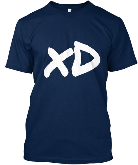 Xd  Navy T-Shirt Front