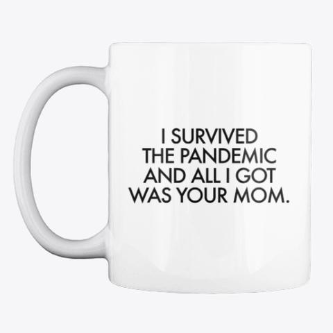 Pandemic Paul White T-Shirt Front