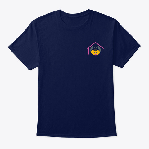 The Canine Fellowship Navy T-Shirt Front