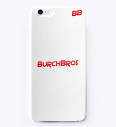 Burch Bros Iphone & Samsung Case Standard T-Shirt Front
