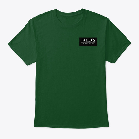 Jaco's Two Sided Tee Deep Forest T-Shirt Front