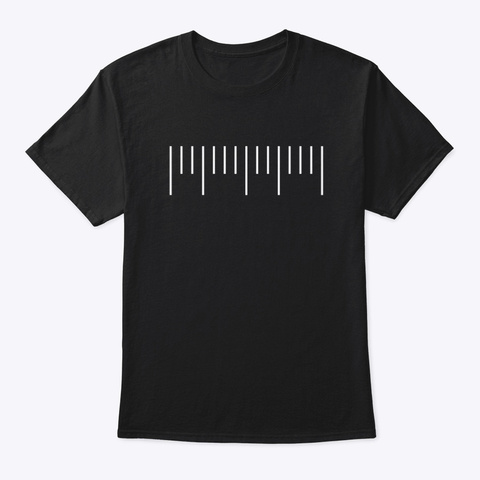 Classic Tee Black T-Shirt Front