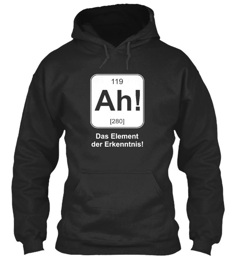Fashionable-Chemiker-Ah-Das-Element-Der-Erkenntnis-Sweat-a-Capuche-Confortable