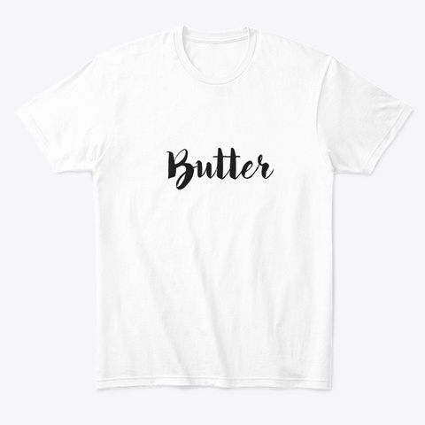 Butter Tee White T-Shirt Front