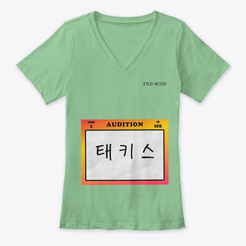 Audition Leaf  T-Shirt Front