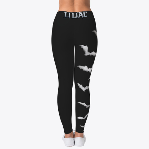 Liliac Leggings Black T-Shirt Back