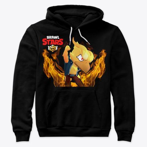 Brawl Stars Merch Oblečení Trička Mikiny Black T-Shirt Front