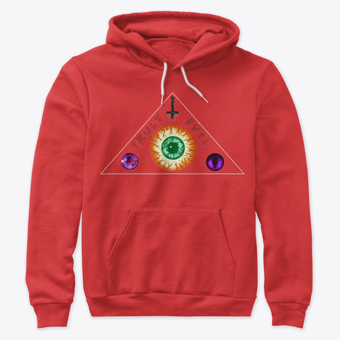 Triple Eye Red T-Shirt Front