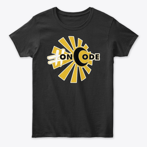 Oncode W/Art Cathey Black T-Shirt Front