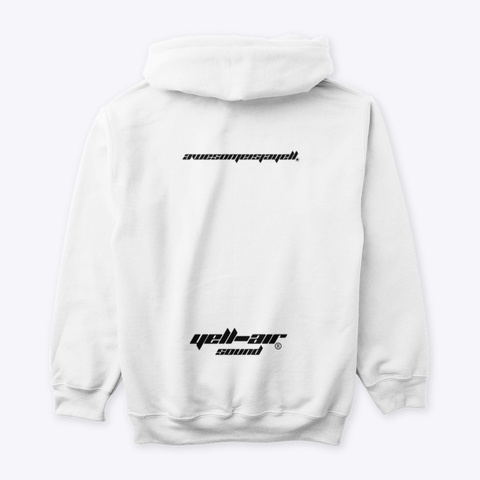 Championship Merch White Sweatshirt Back