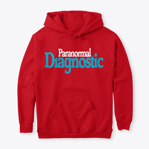 Paranormal Diagnostic Cpi Investigations Red T-Shirt Front