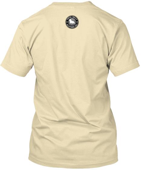 Total Bully   Meat Head T Shirt Cream T-Shirt Back