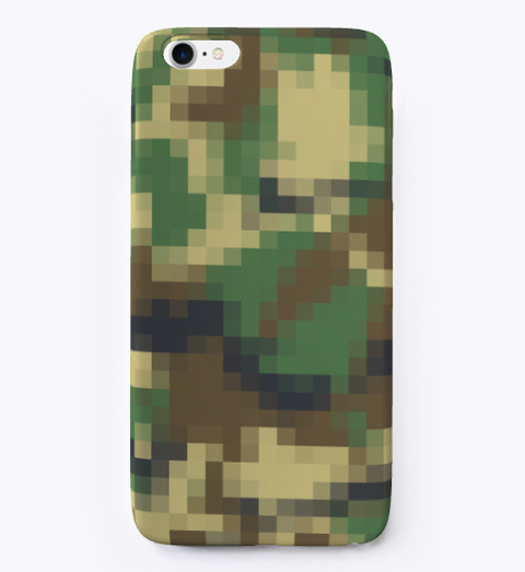 Digital Camouflage Camo Pixel Pattern  Standard T-Shirt Front