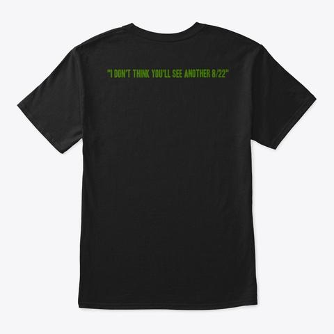 Kyrie Game 4 Black T-Shirt Back