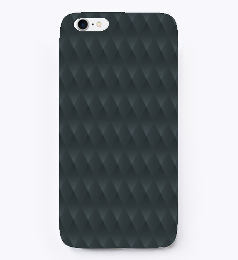 Grey Metallic Texture I Phone Case Standard T-Shirt Front