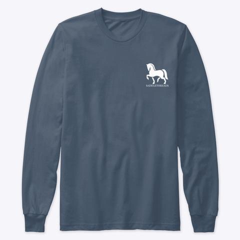 Misfit Toys Horse Rescue  Indigo T-Shirt Front