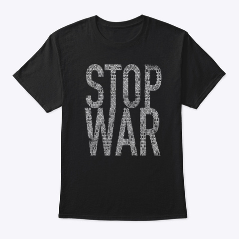 Stop This Black T-Shirt Front