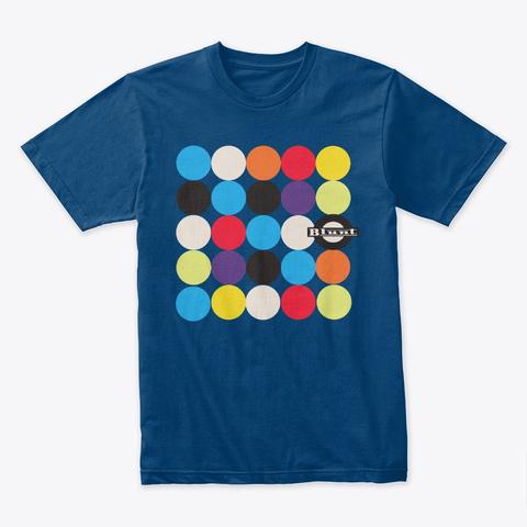 Blunt Colors Cool Blue T-Shirt Front