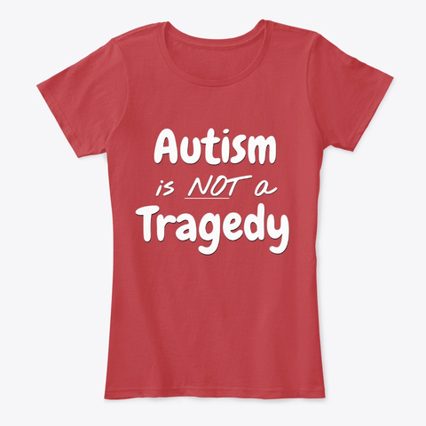 Not A Tragedy T Shirt Classic Red T-Shirt Front