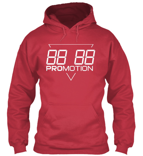 Promotion Hoodie Og Cardinal Red T-Shirt Front